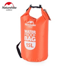 NatureHike 15L Waterproof Dry Bag Pouch Camping Boating Kayaking Rafting Canoeing Bag NH15S002-D