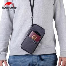 Naturehike Multi Function Outdoor Bag for Cash, Passport, Card Multi Using Travel Wallet NH17C001-B – intl