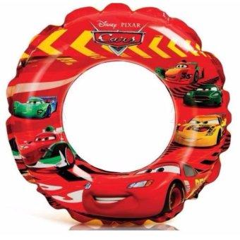 Phao tròn Intex hình ô tô McQueen kích thước 51 cm dùng cho bé 3đến 6 tuổi