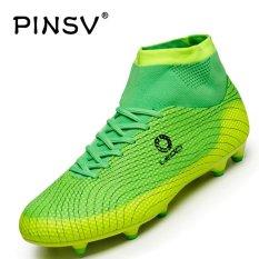 Đá Bóng Pinsv cho nam Giày Đá Bóng Spike (Xanh Lá)-quốc tế
