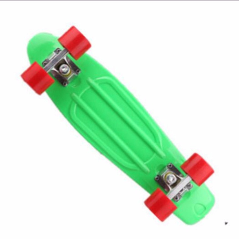Qizhef22 inch fish plate are single - Four Wheel Scooter Skate Scooter(green) - intl