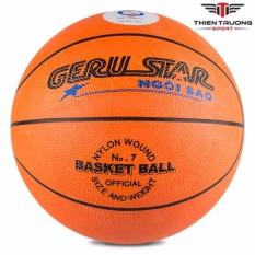 Quả bóng rổ cao su Geru star số 7