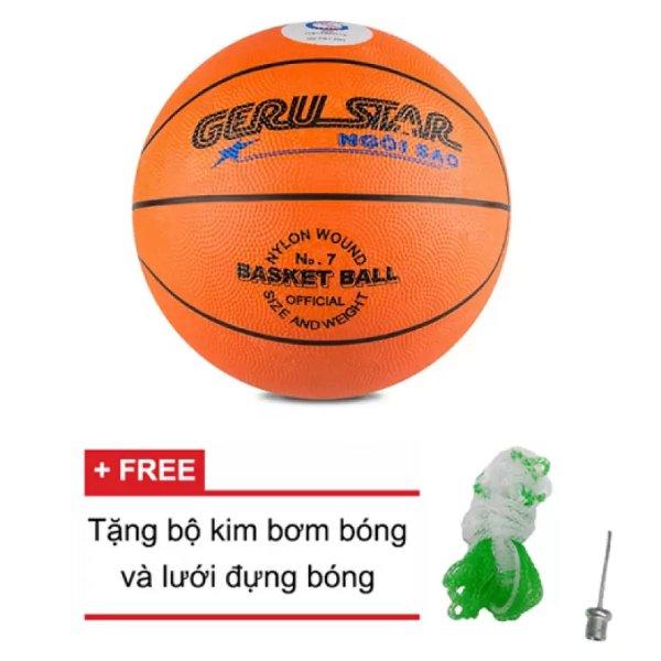 Quả bóng rổ Gerustar số 7 (Cam)