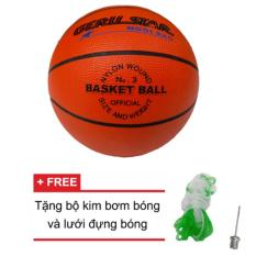 Quả bóng rổ Trẻ em Gerustar số 3 cao su