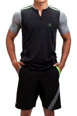 Quần áo thể thao Alien Sports SM01 (Đen)