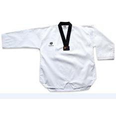 Quần áo võ phục Taekwondo BlackTiger cổ đen