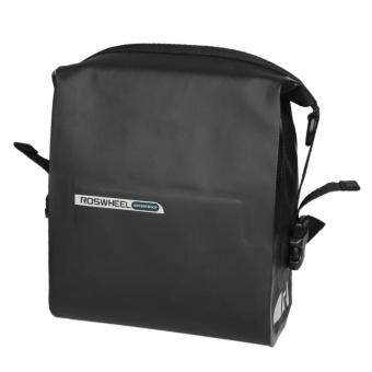 ROSWHEEL 3L Cycling Bike Handlebar Front Basket Waterproof PVC Bag- intl
