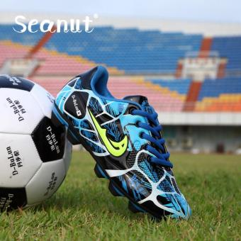 Seanut Football Shoes Hot Style Fashion Sports Shoes (Blue) - intl