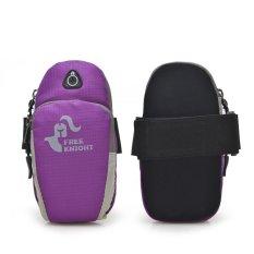 Sports Running Jogging Gym Armband Bag Case Cover Holder(purple) – intl
