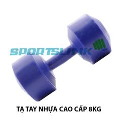 Tạ tay nhựa cao cấp NTStar 8kg