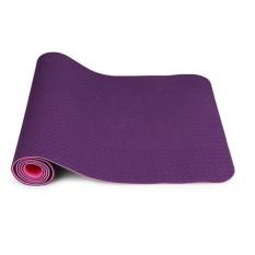 Thảm tập yoga 2 lớp TPE cao cấp ZENO (Tím)