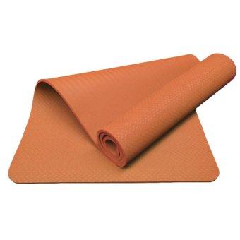 Thảm tập yoga tốt có túi đựng Ribobi (Cam)