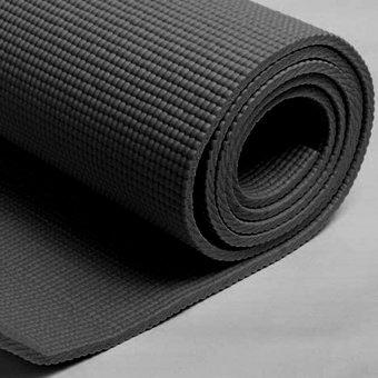 Thảm tập yoga tốt có túi đựng Ribobi (Đen)