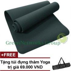 Thảm tập Yoga TPE cao cấp Zera GnG 8mm 2 lớp + Tặng túi đựng thảm