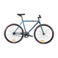 Topbike Fix Đen ánh Xanh