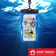 Túi chống nước 100% cho điện thoại 6 inch (Khóa tam giác cao cấp)