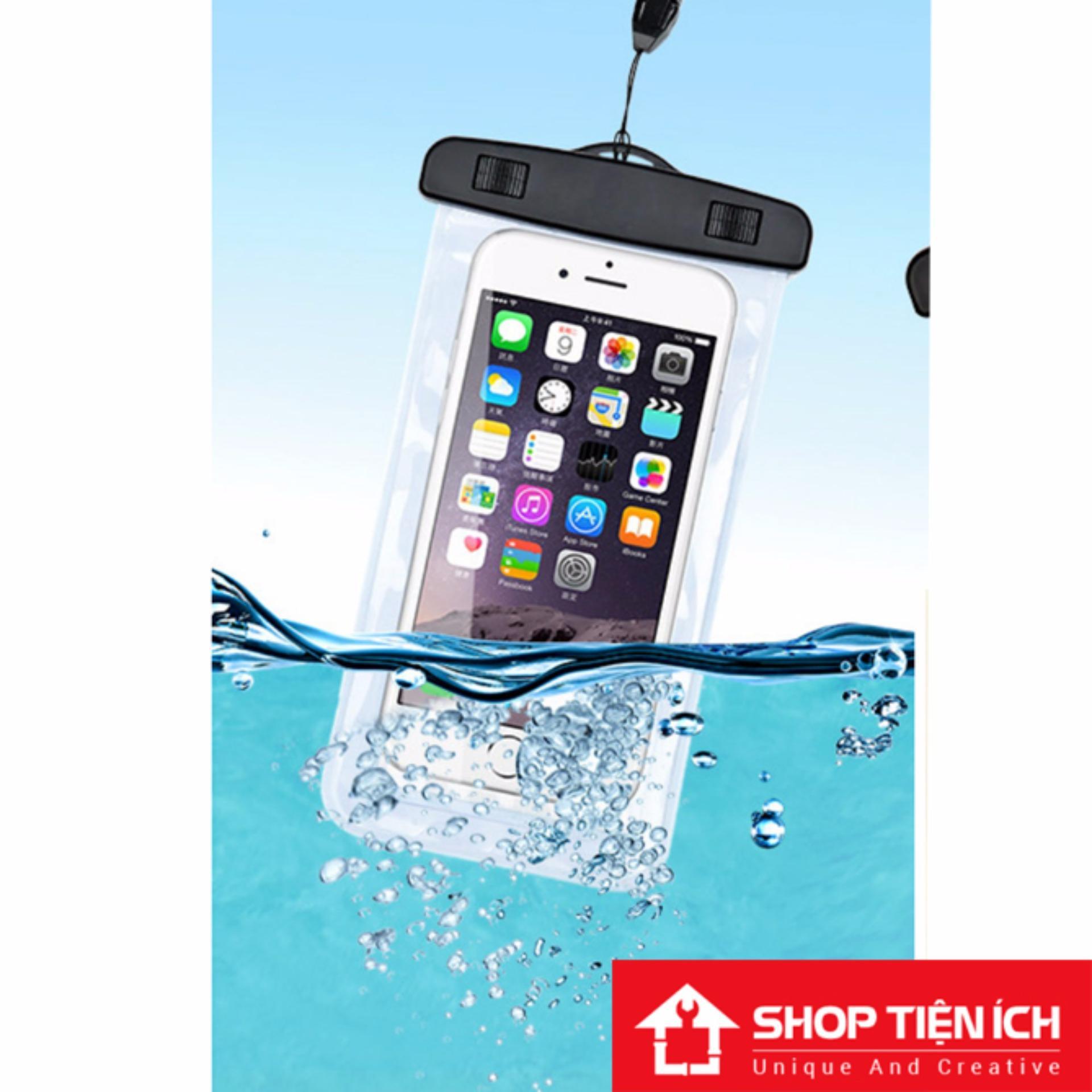 Túi chống nước an toàn cho điện thoại (Nhiều màu trong suốt 2 mặt)