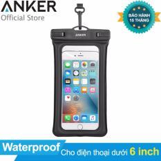 Túi chống nước ANKER Waterproof Case cho điện thoại dưới 6 inch (Trong suốt) – Hãng Phân Phối Chính Thức