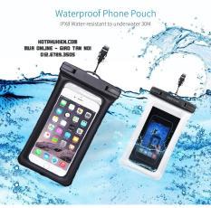 Túi chống nước chống bụi điện thoại smartphone cao cấp chuẩn chống nước IPx8 (Đen)