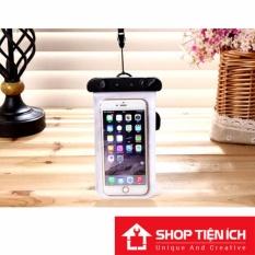 Túi chống nước đi bơi 100% cho điện thoại 6 inch (Đen)