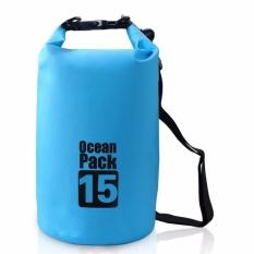 Túi chống nước tuyệt đối 100%, 15L, đeo chéo vai, chất liệu cao cấp POPO Sports