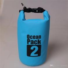 Túi chống nước tuyệt đối 100% – 2L đựng đồ đi biển, dã ngoại, đeo chéo vai, đồ thể thao chuyên dụng cao cấp – POKI