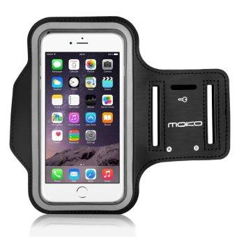 So Sánh Giá Túi đeo tay Moko (Đen) đựng điện thoại khi tập thể dục dành cho Iphone 6/6s và Galaxy S6/S6 Edge (phù hợp với điện thoại có màn hình tối đa 5.2 inch)