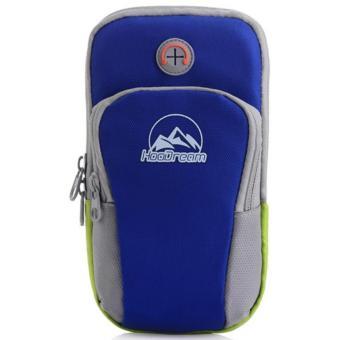 Nơi mua Túi đựng điện thoại đeo tay khi tập gym, thể dục màu xanh lam đậm