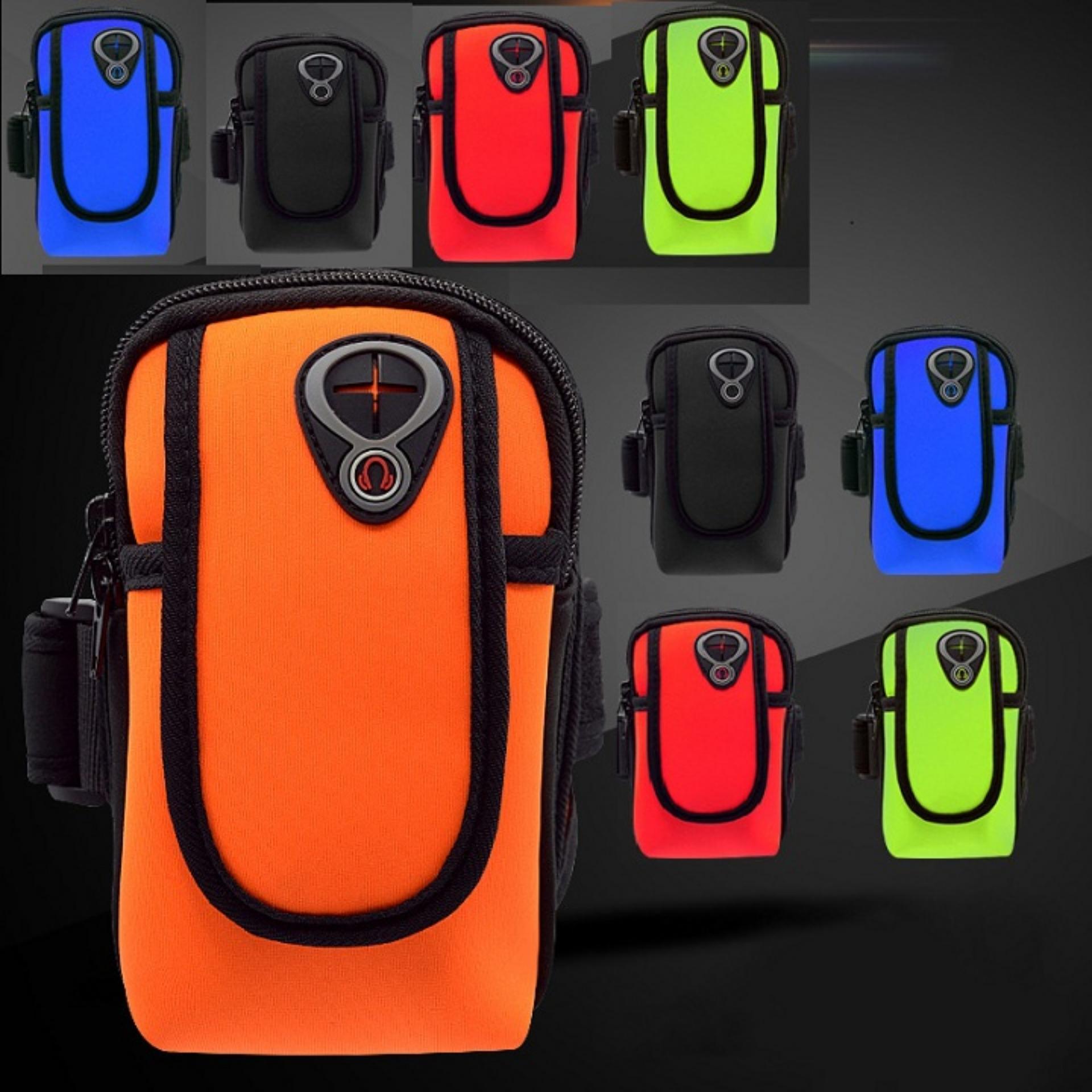 Túi đựng điện thoại đeo tay tập thể thao – loại cao cấp có lỗ luồn tai nghe