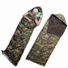 Túi ngủ du lịch vải dù họa tiết lính