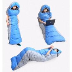 Túi ngủ văn phòng cao cấp có tay – Túi ngủ cá nhân loại dày nặng 1,6kg