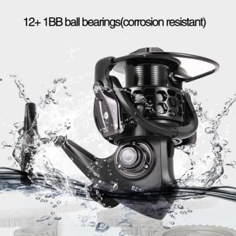 Ultra Smooth 12+1BB Bearing Fishing Reel 4000 - intl - 2