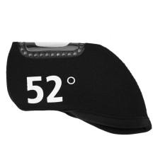 Hữu ích Neoprene Cửa Sổ Golf Sắt Câu Lạc Bộ Headcover Bóng Đầu Bảo Vệ (52 °)-quốc tế