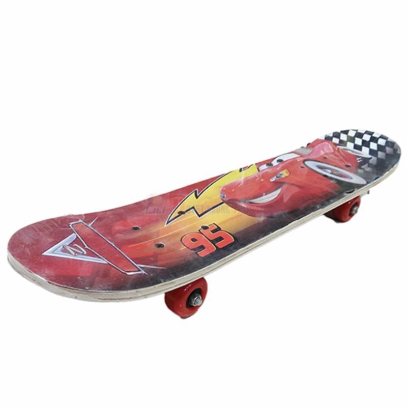Ván trượt Skate Board cho trẻ dưới 10 tuổi(Đỏ)