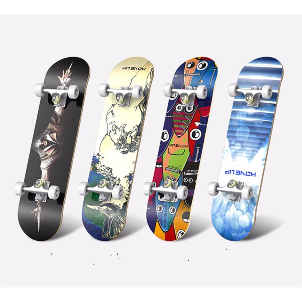 Ván Trượt Skate Board Loại Lớn (Bánh Đục)