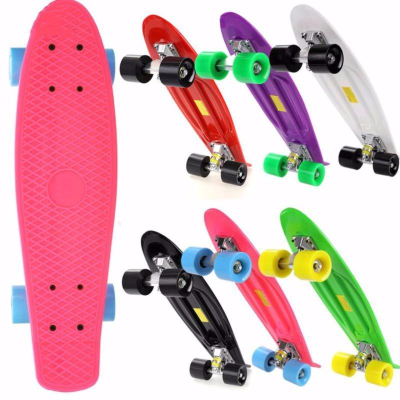 Giá bán Ván trượt skate nhập khẩu cao cấp - tiêu chuẩn thi đấu (Hồng)