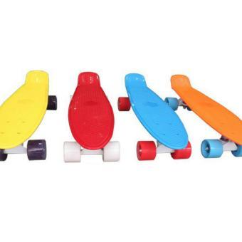 Ván trượt Skateboard Penny nhập khẩu cao cấp - tiêu chuẩn thi đấu - đỏ
