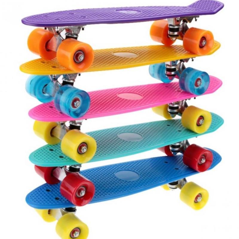 Ván trượt Skateboard Penny nhập khẩu cao cấp - tiêu chuẩn thi đấu (Tím)