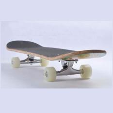 Ván trượt thể thao cao cấp Skateboard cỡ lớn bánh cao su đục