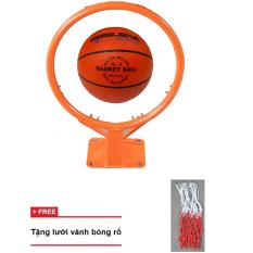 vành bóng rổ 35cm + quả bóng rổ gerustar số 5