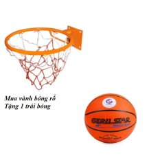 Vành bóng rổ 40 cm + Tặng quả bóng rổ