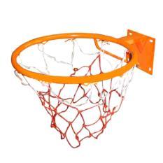 Vành bóng rổ 40cm kèm lưới (Cam)