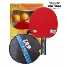 [Lấy mã giảm thêm 30%]Vợt bóng bàn 729-2040 + Tặng túi đựng vợt và 2 quả bóng bàn