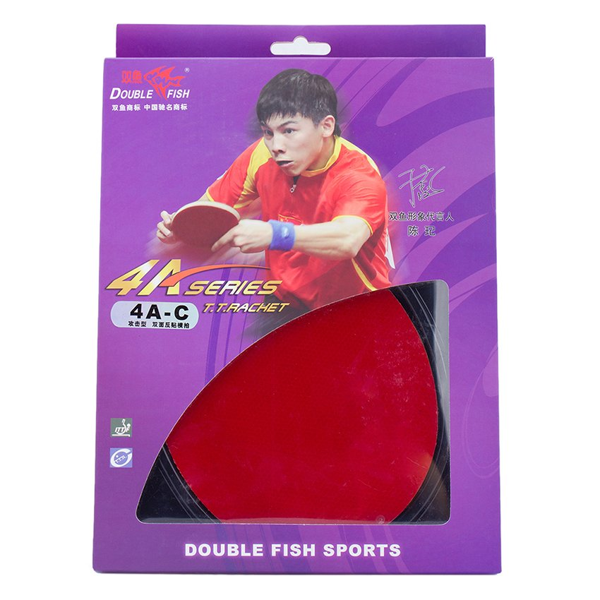 Vợt bóng bàn Double fish DF 4A-C (Đỏ)