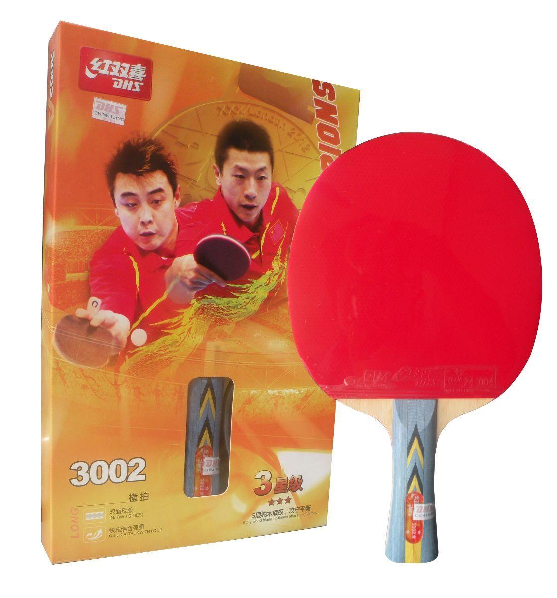 Vợt bóng bàn Double Fish DHS 3002 (Đỏ)