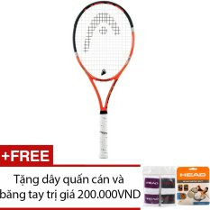 Vợt Tennis trợ lực HEAD Radical Lite 100inch 250g + Tặng 1 dây lưới và 1 băng tay