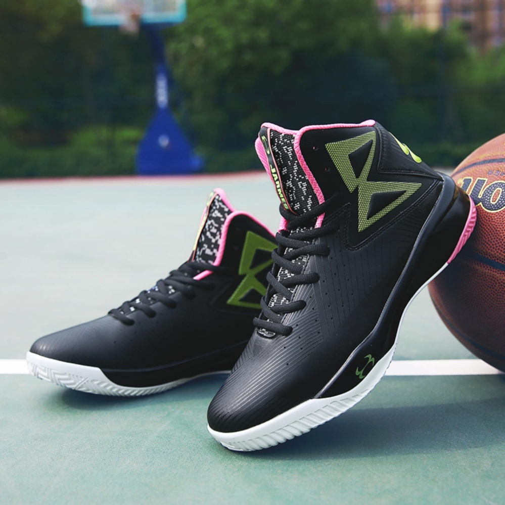 Wearable couple basketball shoes women fashion outdoor sport shoes basketball shoes – intl
