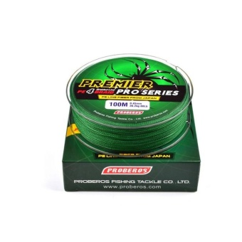 WWang 100M 2.0# 0.23mm Super Strong PE Braided Fishing Line25LBGreen - intl