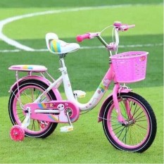 Xe đạp cao cấp Youmi yên vát giỏ nhựa bánh 12