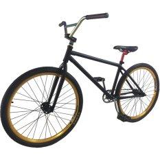 Xe đạp địa hình biểu diễn BMX freestyle (Đen)